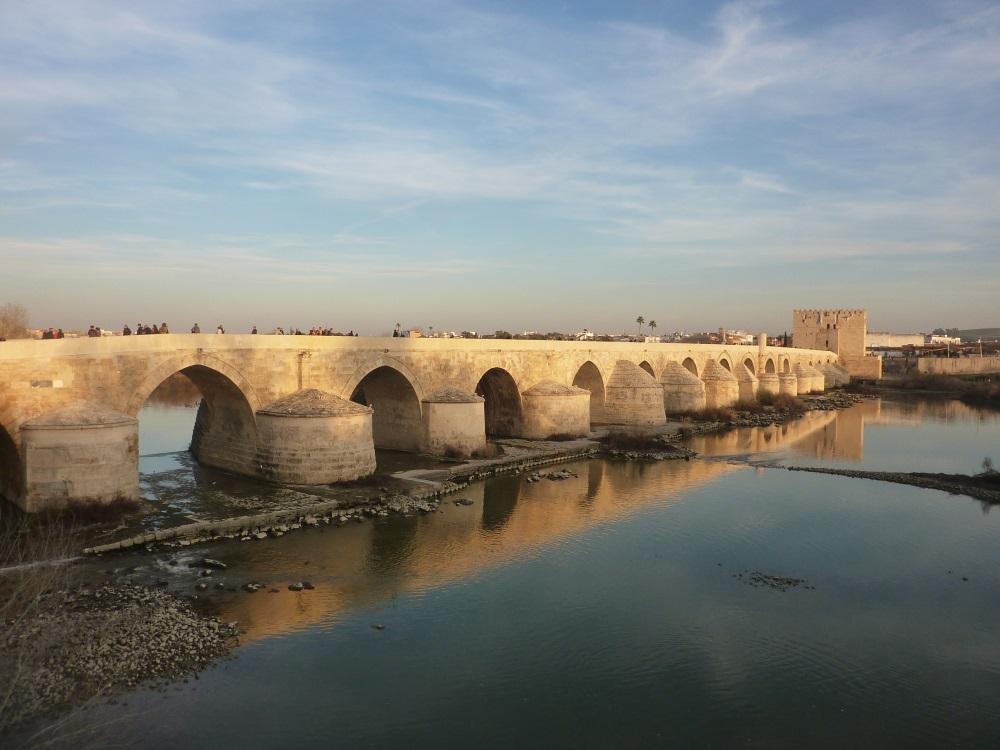 Le Pont Romain Cordoue Espagne Elaeroute212